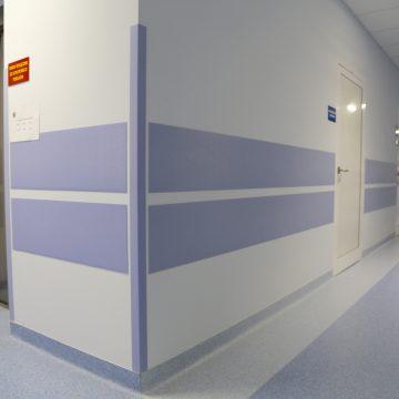 Angular protection of walls