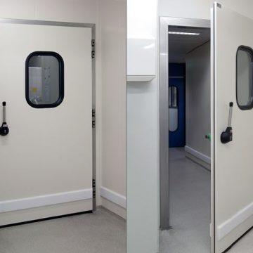 Metaflex industrial swing doors